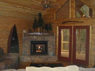 Cabin on Snowbird Creek, W/Wi-Fi