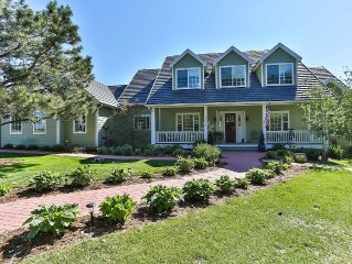 Stunning Family Friendly Home On 12 Acres Of Land