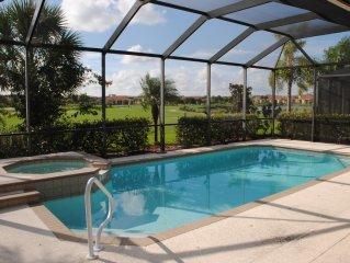 Stunning Luxury Accommodations. 4br/2ba House In Prestigious Golf Resort.