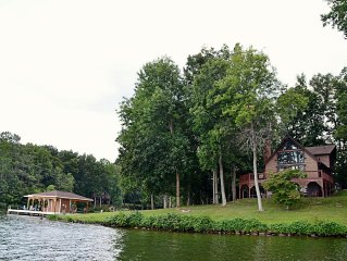Lake Anna Retreat on the Public Side with Over 300' of Waterfront