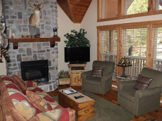 4BR/4BA Lodge in Stonebridge, excellent location,  WE PAY THE CLEANING FEES!!!
