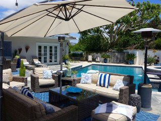 Resort-Style Pool, 7 mins to Beach, Estate w Golf Views, Exclusive Neighborhood