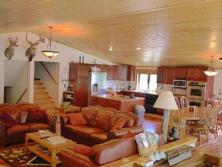 Very Private Home In Middle of 2 million acres of Lewis & Clark National Forest