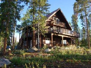 Tremendous Lake & Mountain Views, Minutes from Village & Rmnp