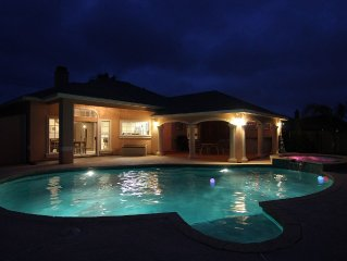 POOLSIDE ON THE ISLAND!  BEAUTIFUL BEACH HOME - YOUR OWN PRIVATE OASIS!