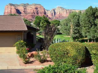 Canyon Mesa Country Club Town-home with Red Rock and Golf Course Views.