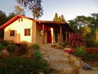 Quiet, Romantic, Montecito Retreat