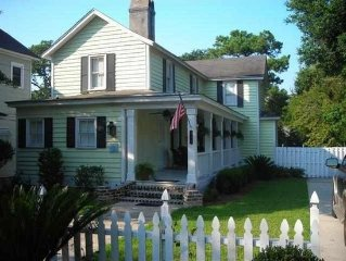 Historic Home In Downtown Georgetown, Close To Charleston And Pawleys Island