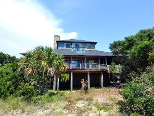 South Beach Bald Head Island, NC: Panoramic Views , Short walk to beach