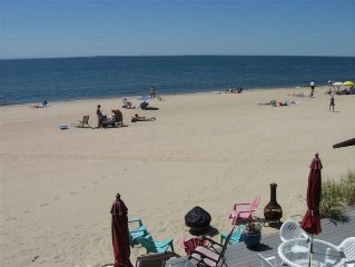 Private Beachfront Condo On Long Island Sound