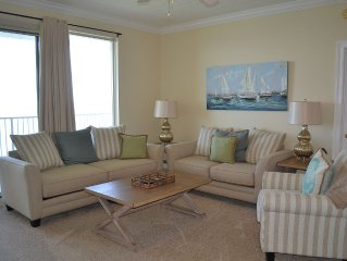 Treasure Island Luxury 2 BR Condo--- Best View in Panama City!