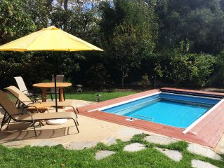 Montecito Oasis! Luxury Home with Pool & Hot Tub, Minutes From Beach & Trails