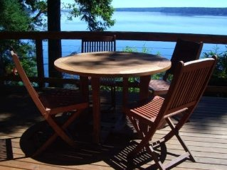 Hood Canal Waterfront Cabin