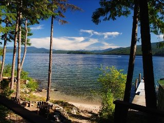 Pristine Priest Lake Waterfront Cabin - NOW BOOKING SUMMER 2017