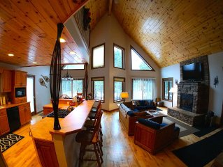 Exceptional Chalet near Nubs Nob & Boyne Highlands Ski and Golf Resort