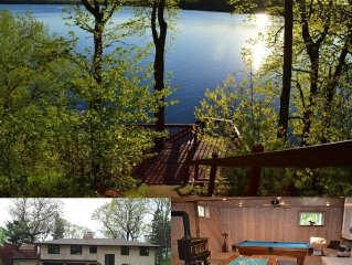Beautiful Lake Home only 1 hr north of Twin Cities - Excellent Fishing and Rec.