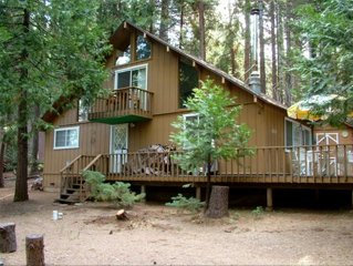 Easy Access Sierra Cabin Near Bear Valley Ski Resort