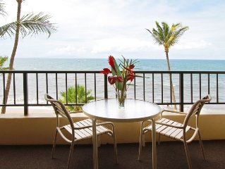 OceanFRONT, UPDATED, 4th Floor, 1BR Cali King, Non-Smoking, SHARP!