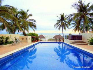 Punta Mita Beautiful Beach Front Condo. Great Rates!
