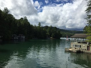 Peaceful Cove on Lake Rabun
