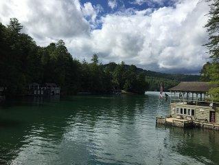 Peaceful Cove on Lake Rabun