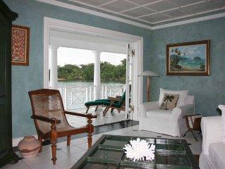 Winter escape to Jamaica waterfront villa: Port Antonio, 3bd/3bth, 3 staff, more