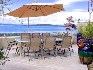 Fabulous Private Waterfront Setting Minutes From Downtown Seattle