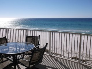 Come Relax And Enjoy A Beachfront Condo On The White Sandy Shores On The Gulf!