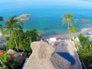 Puerto Vallarta's finest luxury beachfront rental villa