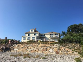 5 BR, 4 Bath Ocean Front W/ Private Beach And Bonus Basement