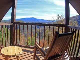Spectacular Smoky Mountain Views!!!  Book Today!!!!