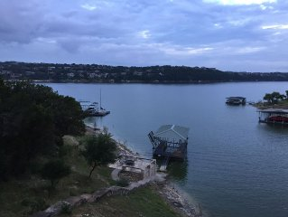 Luxury Lake Travis Waterfront Executive Estate With Private Dock & Awesome Views