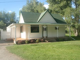 NEW! - Classic house on a gorgeous grass acre w/gazebos, stream & close to town.
