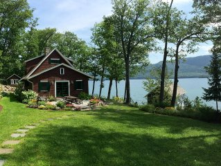 Silver Bay Lakefront Boathouse Compound Rental On Lake George