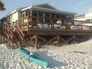 Comer Beach House.(Inlet) Beachfront. Great fall rates. No hurricane damagege