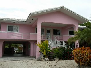 Oceanside Waterfront Family Retreat Near Pennekamp State Park & Dolphins Plus