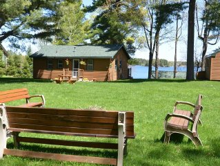 North Woods Cabin on Lake Minocqua: A perfect mix of getaway and access to fun!