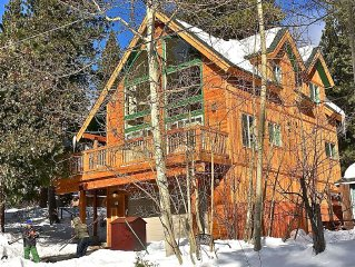 Brand New Sunny Three Bedroom Lake Tahoe Chalet In Great Location