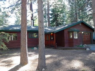 Perfect Tahoe Cabin - Pet and family friendly near best beaches & Ski Resorts
