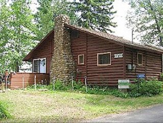 Reserve Your Lakeview for 2017 at This Breezy Point Log Cabin