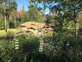 Newly Restored Private Yosemite Mountain Getaway On 40 Acres!