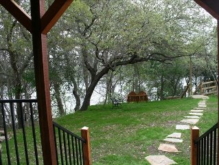 Guadalupe Waterfront Cottage; 3 BR; Lake Dunlap; Nightly or Winter Texans Wanted