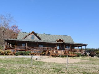 Tryon Equestrian Property with Wrap-Around Porch, Barn, and POOL