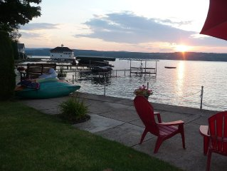 Gorgeous Sunsets!! Lake Level Home On Desirable East Side