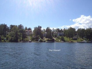 Spacious and with sea view in the heart of Stockholm Archipelago