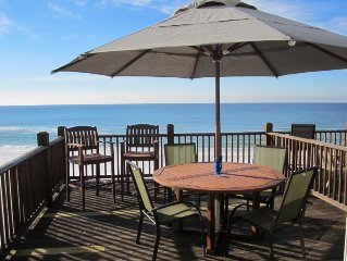 Oceanfront Beachfront Townhome, Heated Pool, Near Seaside