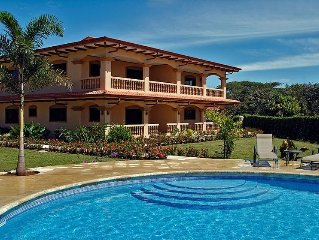 Luxury Condo with Large Pool, Ocean View, Secluded Beach.
