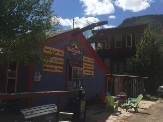 The Hippy High Rise, located in Silverton, Colorado.