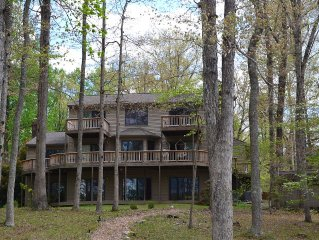 Lake Anna, PUBLIC Side, Waterfront, Cove, 4,900' home, 4 BD, 3+ BA, 1,600' Dock