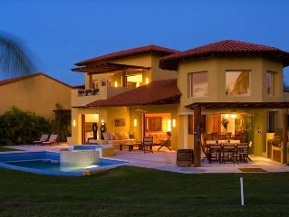 The Most Beauiful House in Punta Mita, 4 Bdr; Near to Four Season, Golf, Beach,